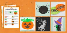 Halloween Themed Craft Activity Pack
