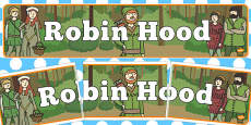 Robin Hood Display Banner