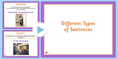 Types of Sentences Teaching PowerPoint