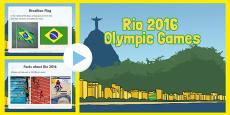 EYFS Rio Olympics 2016 Information PowerPoint