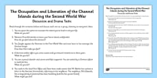 The Occupation and Liberation of the Channel Islands During World War Two Information Activity Sheet