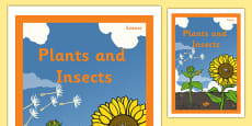 Plants and Insects Book Cover