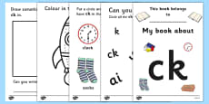 My Phase 2 Digraph Workbook (ck)