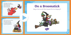 On a Broomstick Song PowerPoint to Support Teaching on Room on the Broom