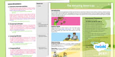 PlanIt - Geography Year 6 - The Amazing Americas Planning Overview