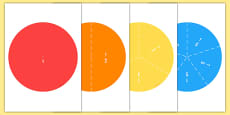Fraction Circle Puzzles