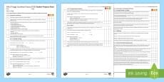 AQA Trilogy Unit 6.1 Energy Student Progress Sheet