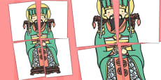 Chinese Emperor Large Display Cut Out - Australia