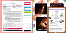 Chocolate Sparklers EYFS Adult Input Plan and Resource Pack