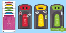 Workstation Pack: Recycling Activity Pack