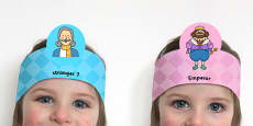 The Emperor's New Clothes Role Play Headband