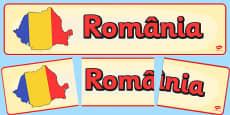 Romania Display Banner Romanian