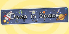 Deep in Space Display Banner (Australia)