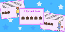 5 Currant Buns Story Sequencing