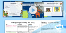 * NEW * PlanIt Y1 Space: To Support Teaching on Whatever Next! Lesson Pack Storytelling (1)