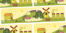 Rosie's Walk Small World Background