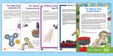 * NEW * UKS2 Mystery Maths Games Resource Pack