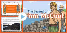 The Legend of Finn McCool PowerPoint
