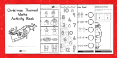 Australia - Christmas Themed Maths Activity Book