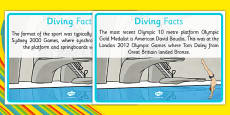 The Olympics Diving Display Facts