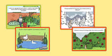 Role Play Challenge Cards to Support Teaching on Percy The Park Keeper Polish