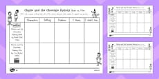 Australia - Comparing the Book and the Film Differentiated Activity Sheets to Support Teaching on Charlie and the Chocolate Factory