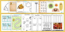 Autumn Themed Fine Motor Skills Pack