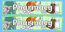Pharmacy Role Play Display Banner