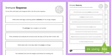 Immune Response Sequencing Cards