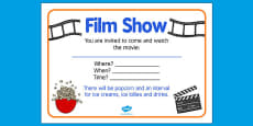 Elderly Care Hydration and Nutrition Week Film Show Poster