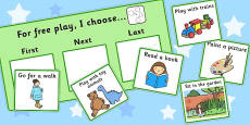 At Free Play I Choose Choice Cards