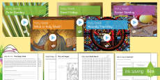 * NEW * Holy Week and Easter PowerPoint Pack