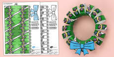 3D Easter Wreath Decoration Display Printable