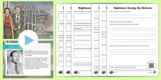 Righteous Among Nations WW2 Lesson Pack