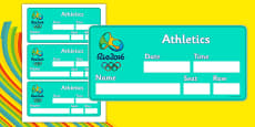 The Olympics Athletics Event Tickets