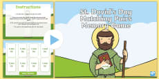 * NEW * St David's Day Matching Pairs PowerPoint
