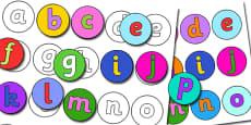 Alphabet Match Activity
