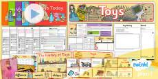 PlanIt - History KS1 - Toys Unit Pack