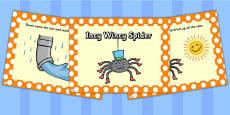 EYFS Incy Wincy Spider PowerPoint
