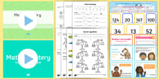* NEW * Year 2 Maths Mastery Place Value  Activity Pack