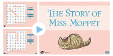 Beatrix Potter - The Story of Miss Moppet Interactive Wordsearch