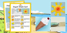 Seaside Themed Craft Activity Pack
