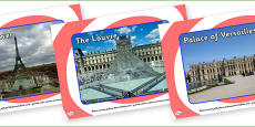 Paris Tourist Attraction Posters