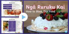 Rurukai Kai Blessing Our Food PowerPoint English/Te Reo Māori