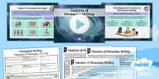 PlanIt Y6 Space: The Golden Record Lesson Pack Persuasive Writing (1)