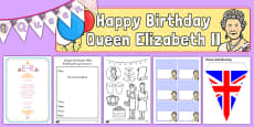 The Queen's Birthday Party Role Play Pack