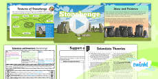 PlanIt - Science Year 5 - Scientists and Inventors Lesson 6: Stonehenge Lesson Pack