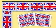 Union Jack Display Borders