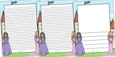 Princess Themed Page Borders
