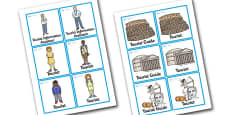 Rome Tourist Information Office Role Play Badges